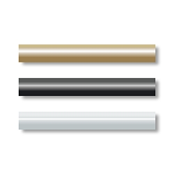 Streamline pen kit 7mm single black tube (requires 2 per kit)