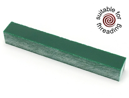 Semplicita SHDC Racing Green acrylic pen blank - 150mm