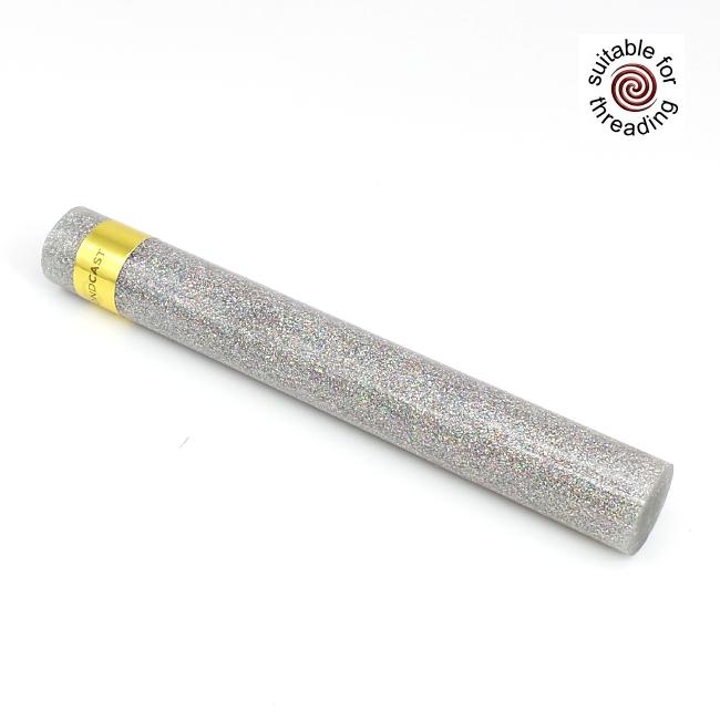 Moissanite - DiamondCast Radiance series pen blank. 150mm