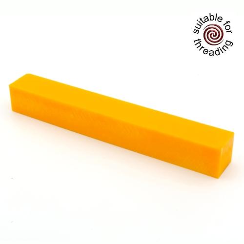 Semplicita SHDC Tropical Orange acrylic pen blank - 200mm