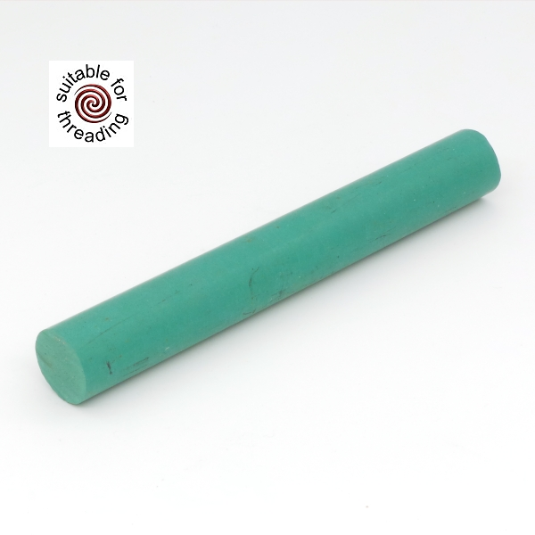Solid Green - ebonite rod. 60 x 20mm