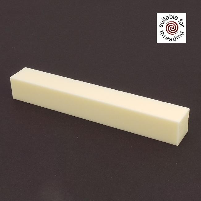Semplicita SHDC Ivory acrylic pen blank - 150mm