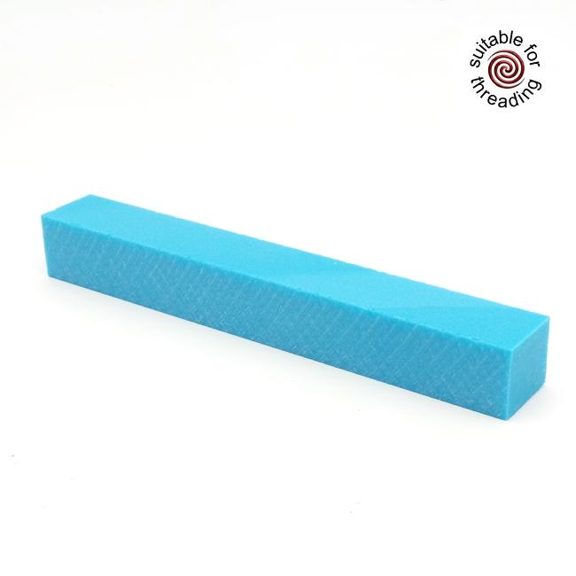 Semplicita SHDC Kingfisher Blue acrylic pen blank - 200mm