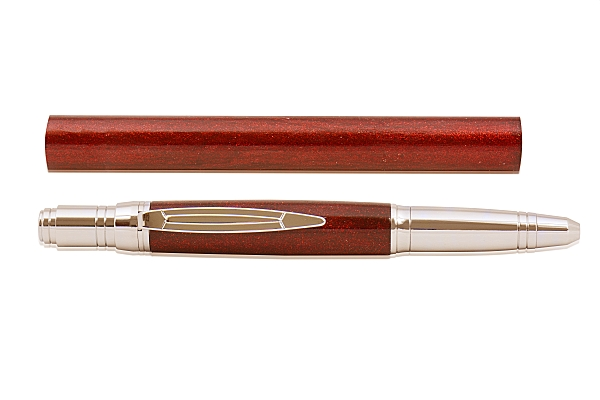 Cinnabar - DiamondCast Radiance series pen blank. 235mm
