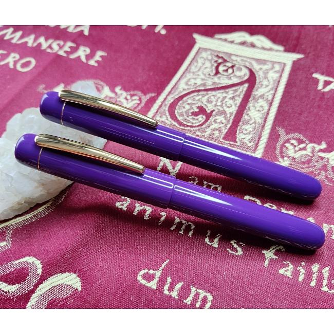 Semplicita SHDC Pure Purple acrylic pen blank - 200mm