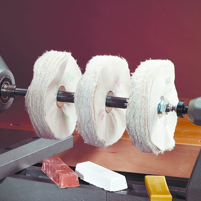 Beall 3-on-a-Lathe Buffing System - complete kit