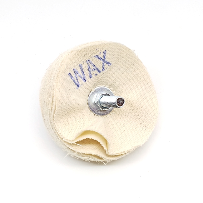 Beall 4 inch buffing wheel with (centre-hole hardware) for carnauba wax