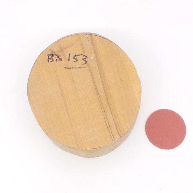 Beech bowl blank - 120 x 75mm