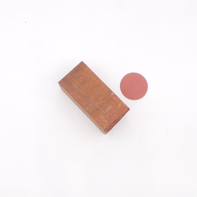 Bubinga spindle blank - 110 x 50 x 50mm