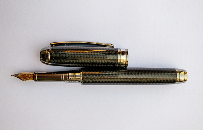Carbon Fibre Crafted Makes pen blank - Mistral BP/PC