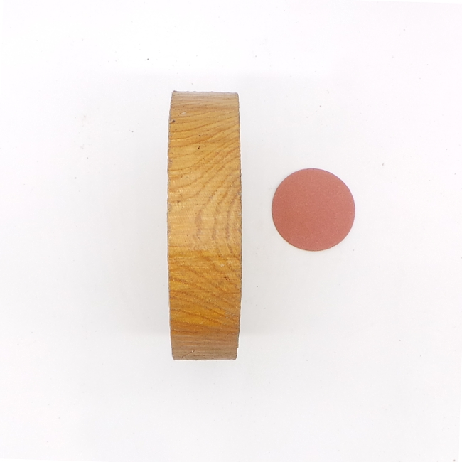 Chestnut bowl blank - 140 x 30mm
