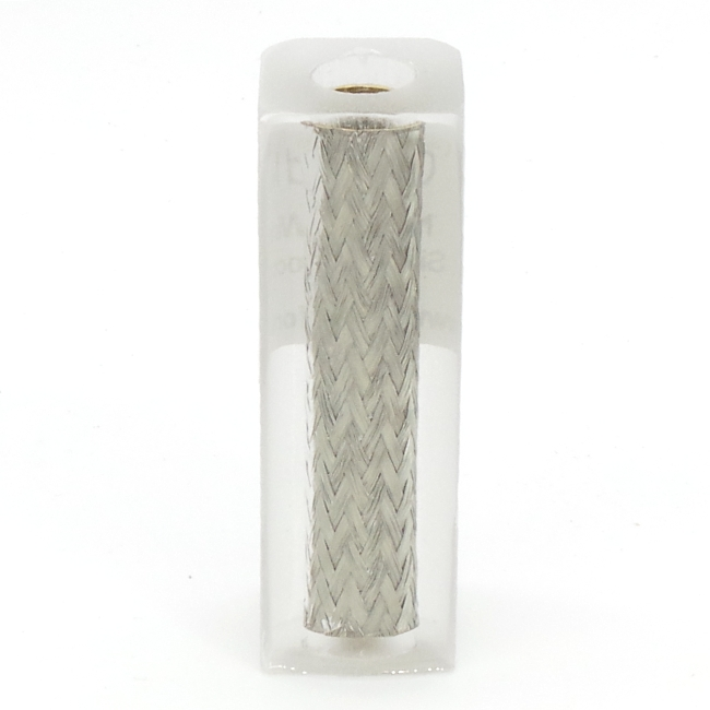 Neutral Crafted Makes wire braid pen blank - Sirocco/Sierra