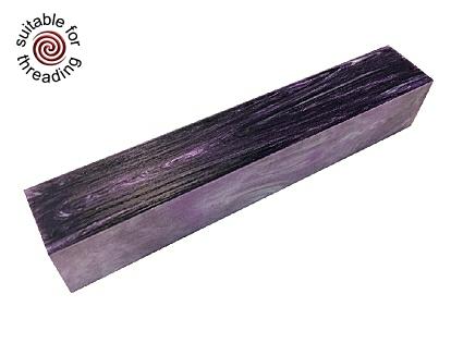 Purple Sky - Divine Island alumilite pen blank