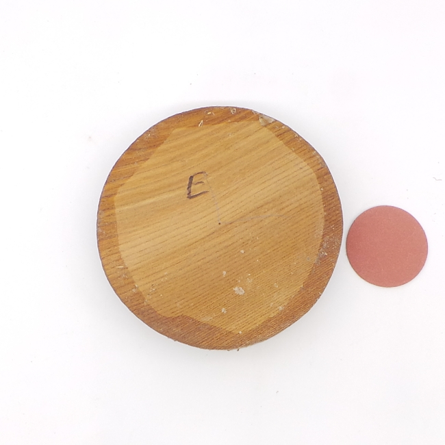 Elm bowl blank - 140 x 28mm