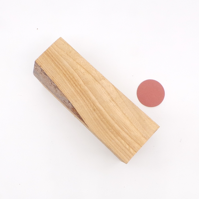 Elm spindle blank - 190 x 70 x 70mm