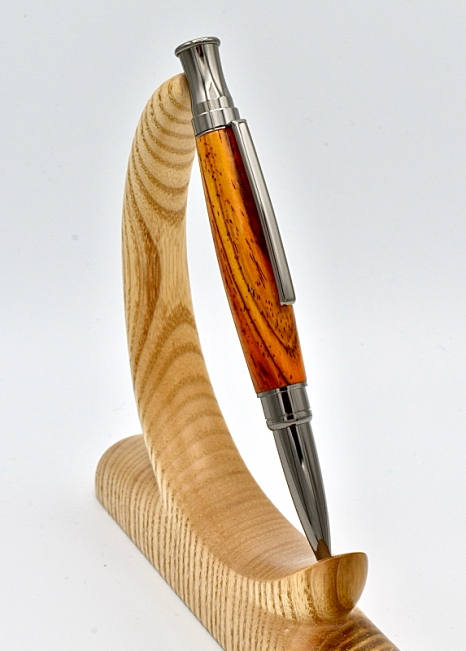 Etesia ballpoint pen kit with gunmetal fittings