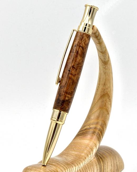 Etesia ballpoint pen kit with upgrade gold fittings