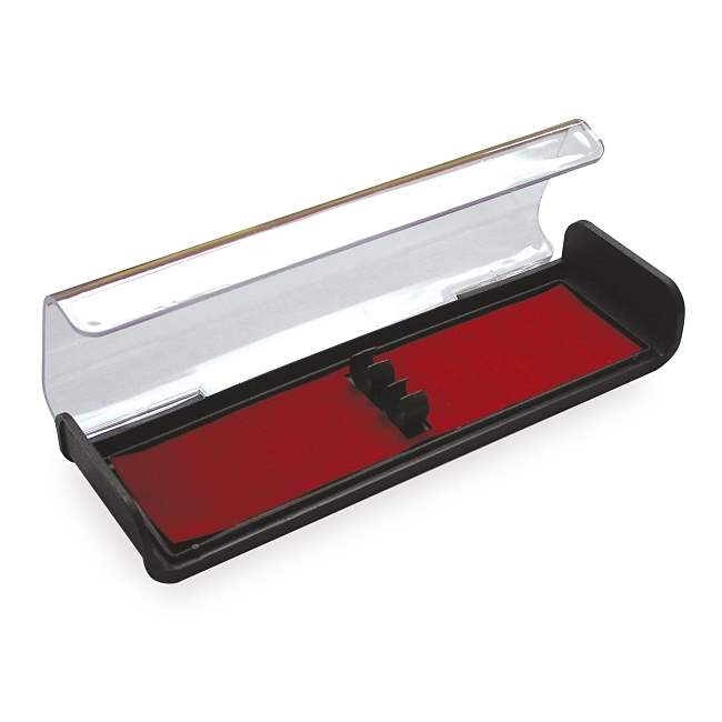 Hinged Plastic Double Pen Box - End of Line Reduced to Clear