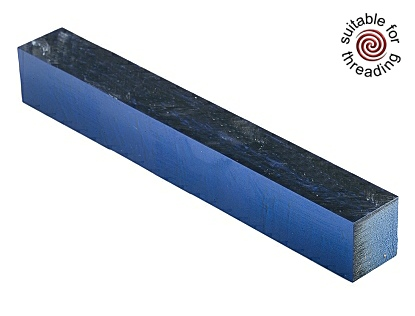 Kirinite Arctic Blue Ice pen blank