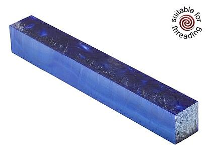 Kirinite Arctic Blue pearl pen blank