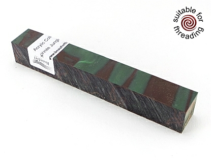 Kirinite Jungle Camo pen blank