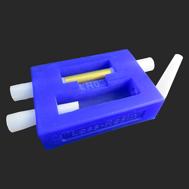 Less-Resin casting mould for Mistral & Leveche FP/RB pen blanks LR03