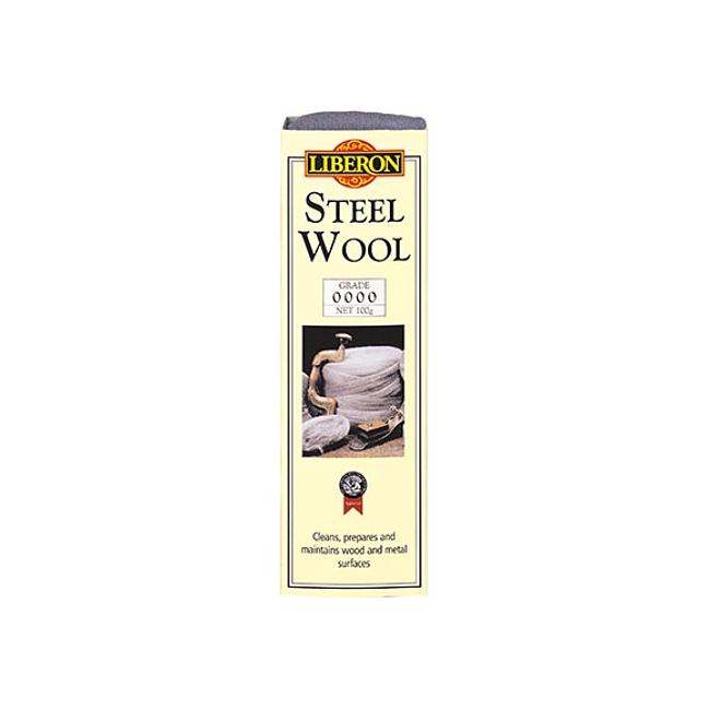 Liberon steel wool - 0000 ultrafine - 100g