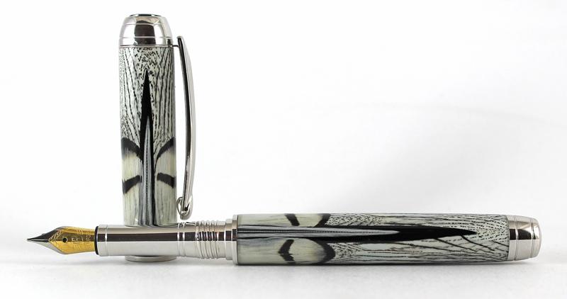 Marlas Feathers pen blank - Mistral FP #4