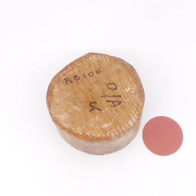 Oak bowl blank - 100 x 70mm