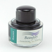 Peacock - Beaufort fountain pen ink. 45ml