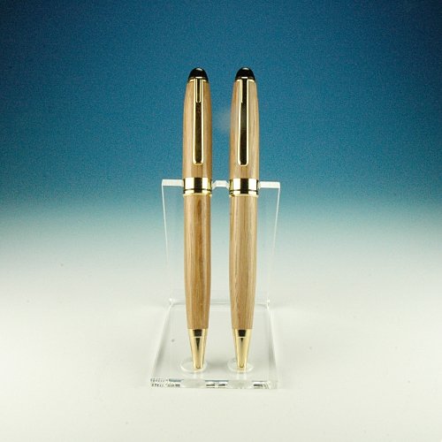 Prism2 pen stand - acrylic pen stand for two pens