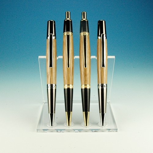 Prism4 - acrylic pen stand for four pens