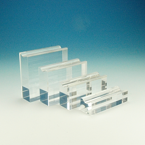 Quadrolith - set of four acrylic pen stands