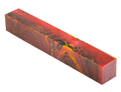 Red Fire - GPS Agencies polyester pen blank