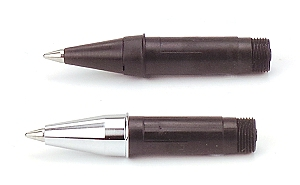 Refillable rollerball nibs for kitless pens
