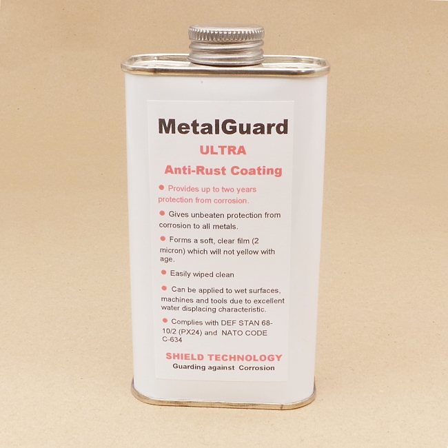 Shield Technology MetalGuard Ultra corrosion inhibitor - 250ml