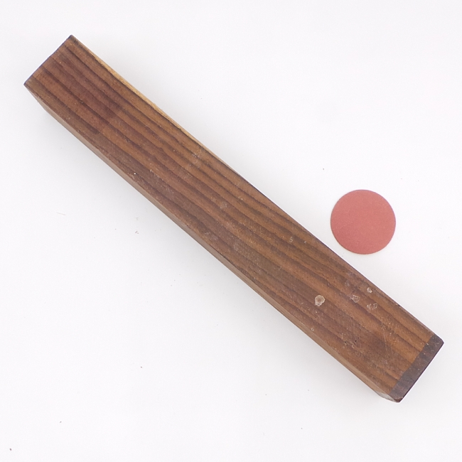 Sonokeling spindle blank - 335 x 50 x 50mm
