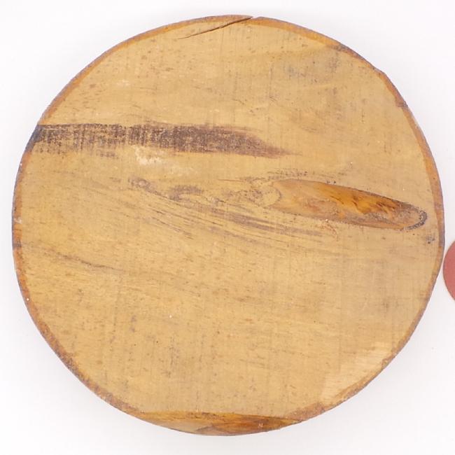 Spalted silver birch bowl blank - 220 x 55mm