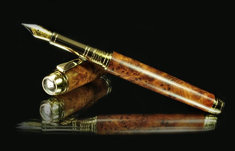 Thuya Burr pen blank