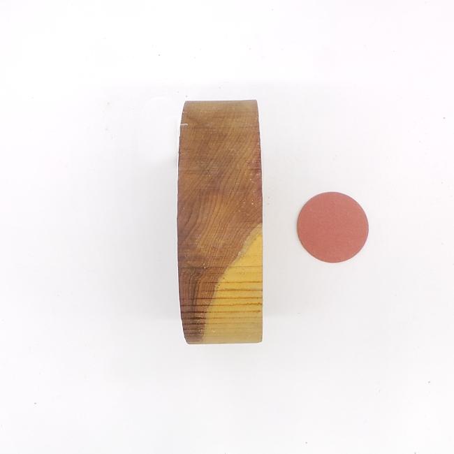 Yew bowl blank - 140 x 40mm